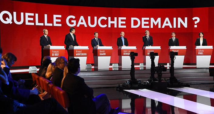 débat de la « primaire » de la « gauche »