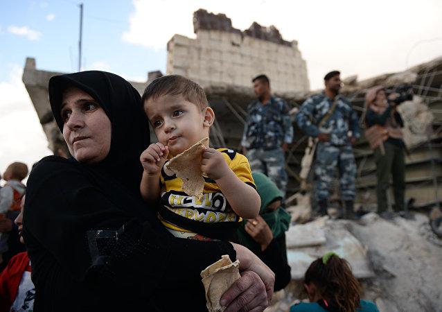 «Nous avons un besoin vital d'aide»: Moscou achemine 12 tonnes de denrées aux Syriens