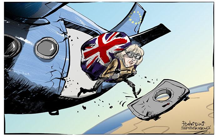 May: «Londres ne s'accrochera à aucun élément de la participation à l'UE»