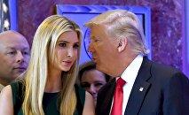 Donald Trump avec sa fille Ivanka