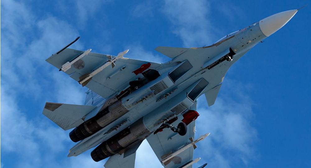 Su-35 russe en Syrie