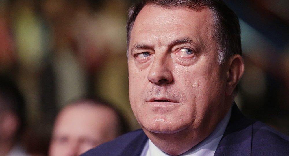 Le président de la République serbe de Bosnie Milorad Dodik