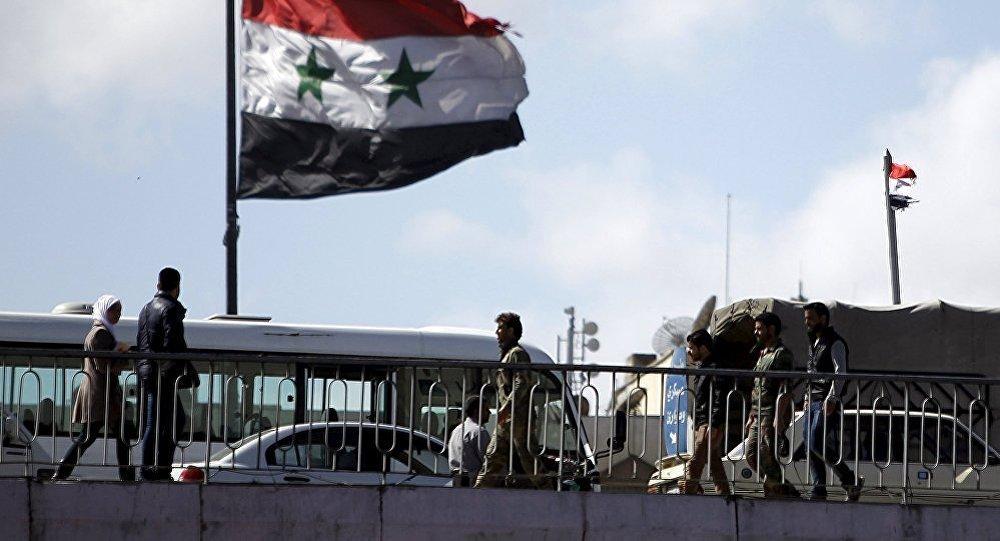 Le drapeau syrien