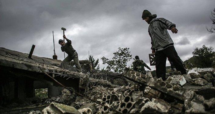 Des fosses communes découvertes à Damas