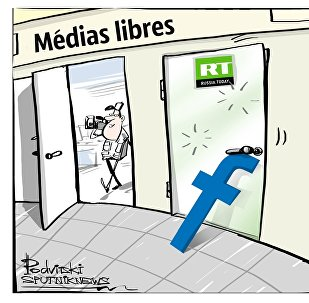 Facebook bloque la page RT anglaise!