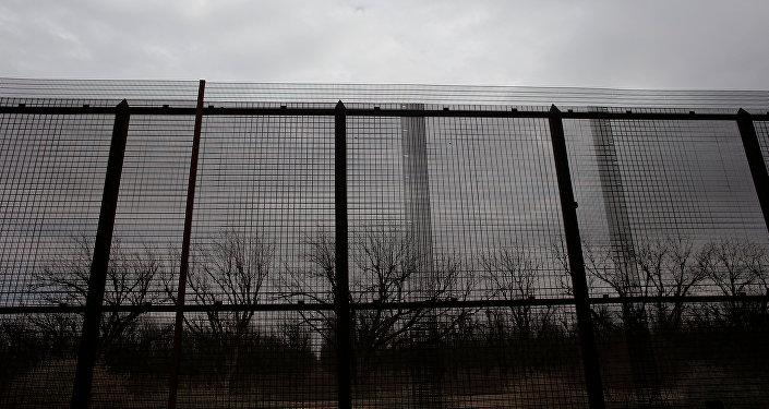 La frontière entre le Mexique et les États-Unis