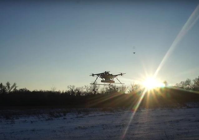 La «gaufre volante»: un drone armé ukrainien innovant fait rire la Toile