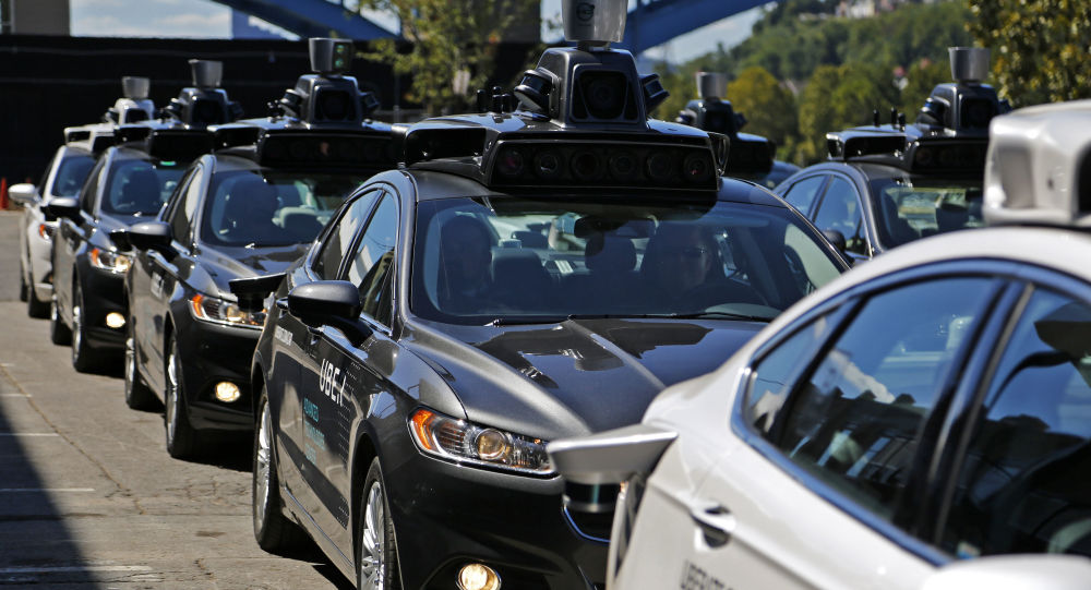 Voitures autonomes Uber à Pittsburgh