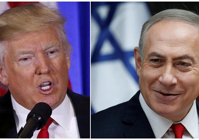 Donald Trump et Benjamin Netanyahu