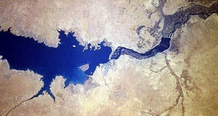 Barrage de l'Euphrate