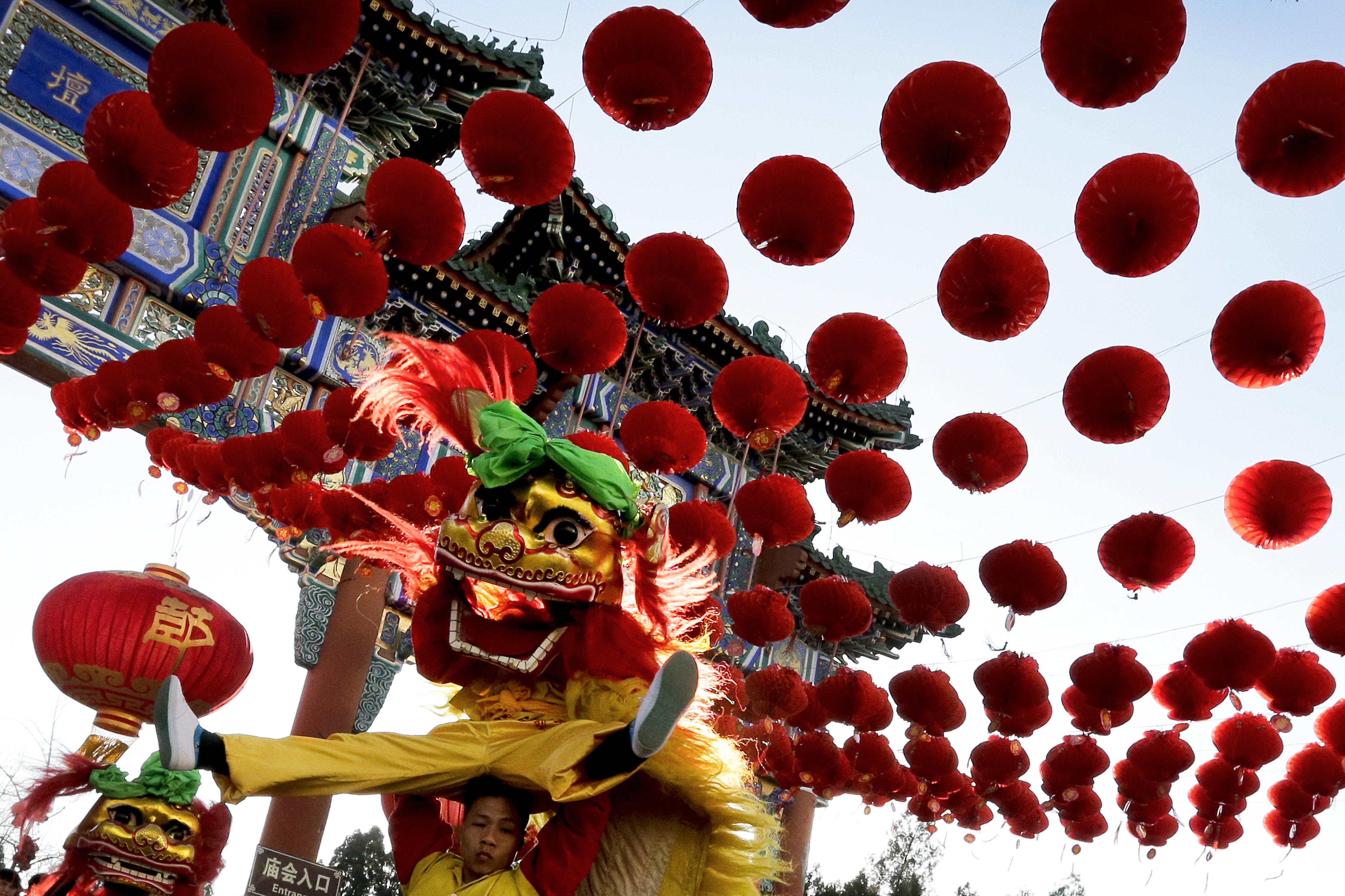 Célébrations à Pékin. Photo d'archives