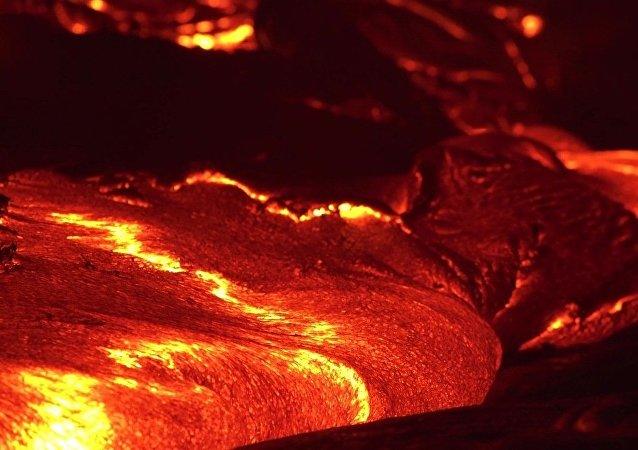 Une rivière de feu