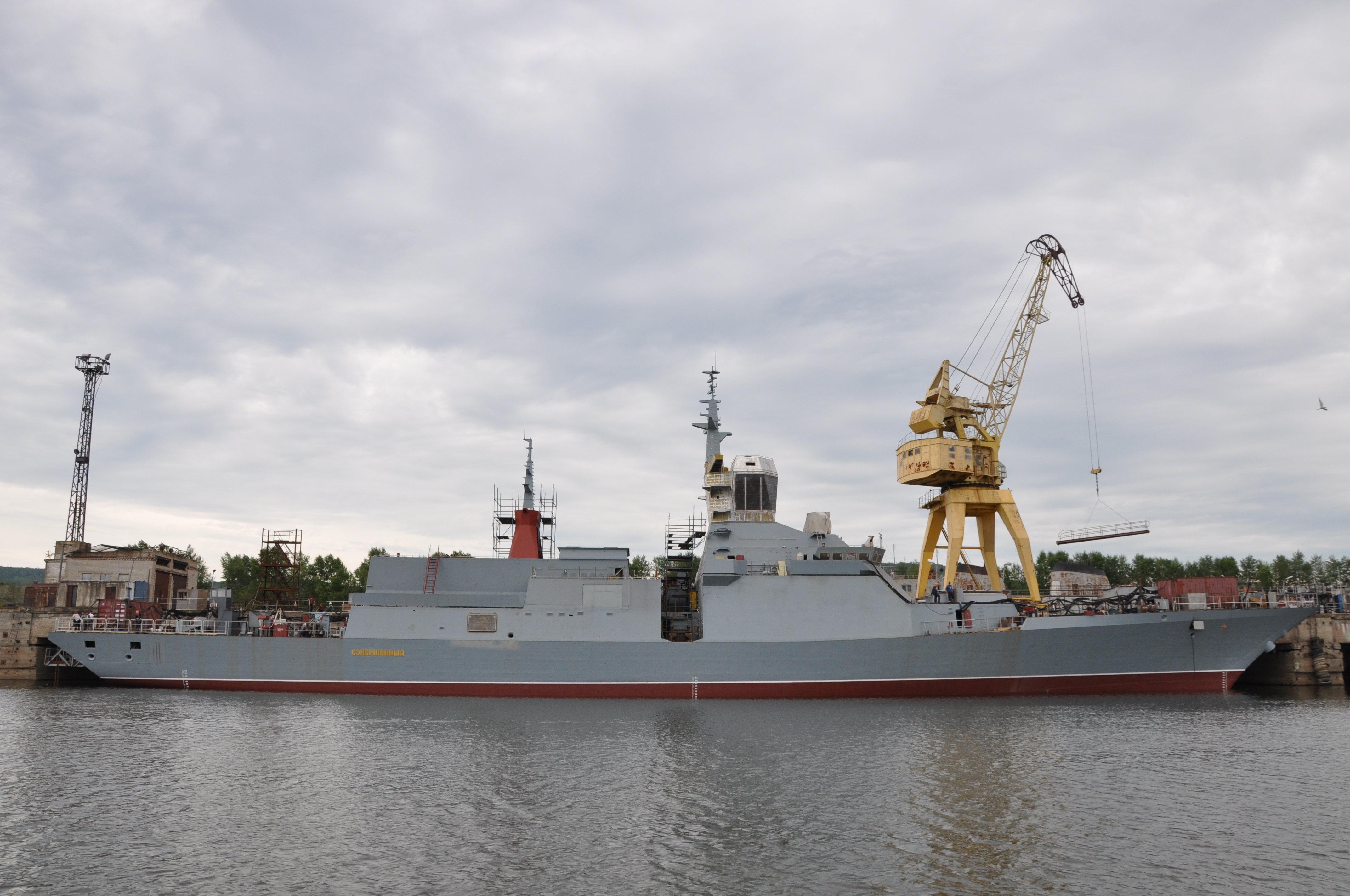 La corvette lance-missiles Soverchenny