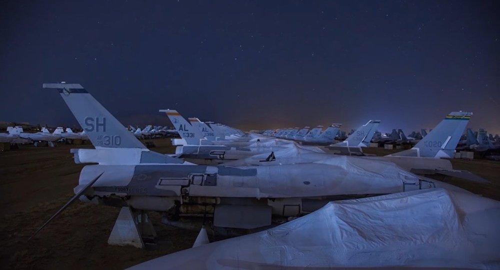 États-Unis: un immense cimetière d'avions
