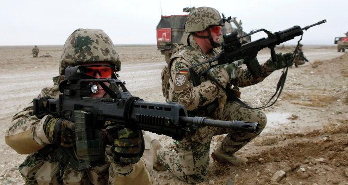 Soldats de la Bundeswehr