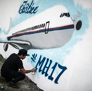 Graffiti. Crash du MH17