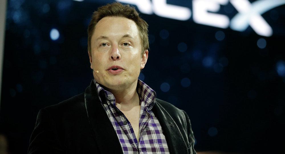 Elon Musk, fondateur de Space X et PDG de Tesla