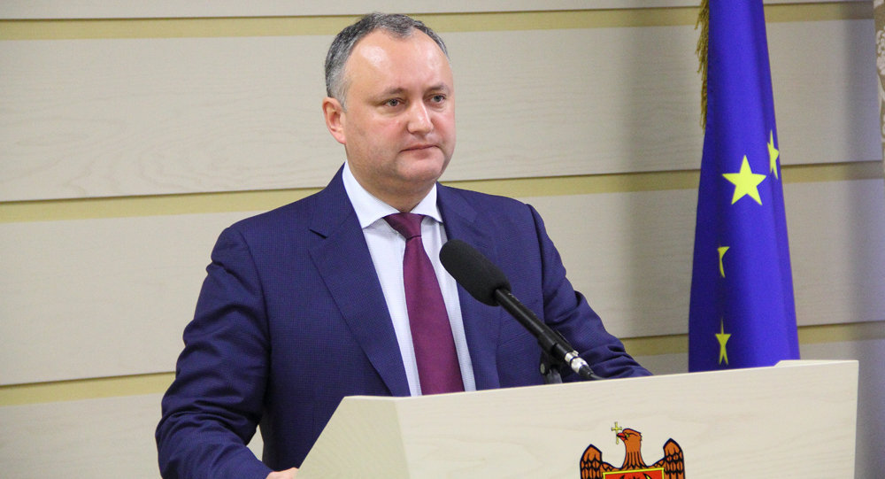 Le président moldave Igor Dodon