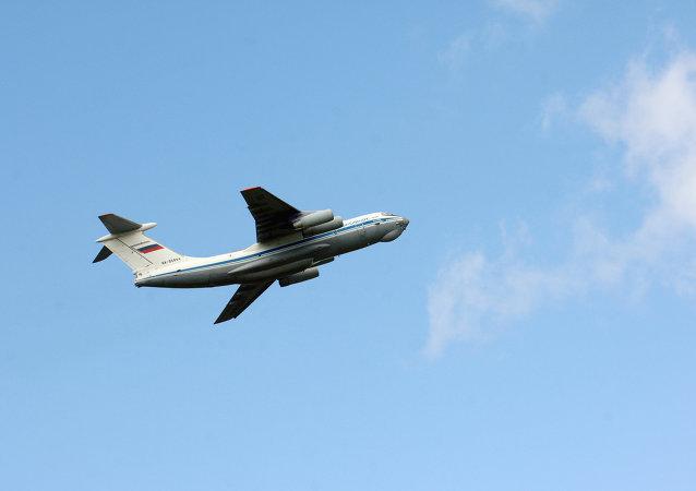 Quand l'avion russe Il-76 devient le «Monsieur propre» chilien