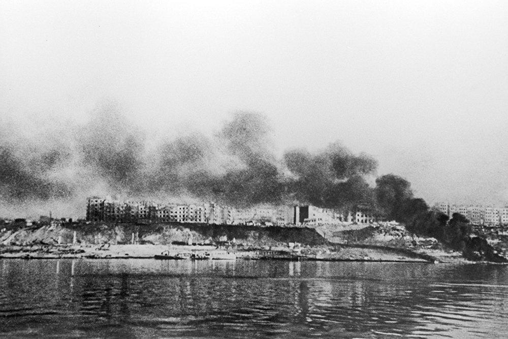 Stalingrad en feu
