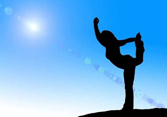 Yoga. Image d'illustration