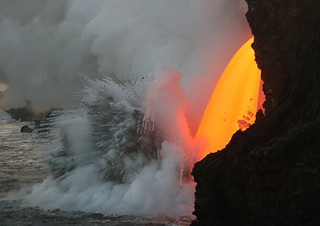 Eruption du volcan Kilauea