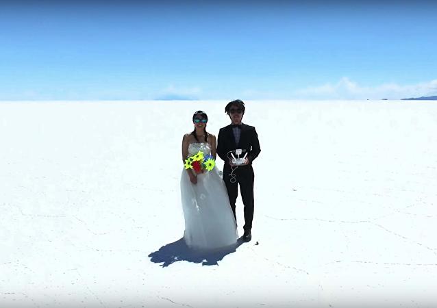 Année de miel: l'étonnante aventure d'un couple japonais qui visite 41 pays en 400 jours