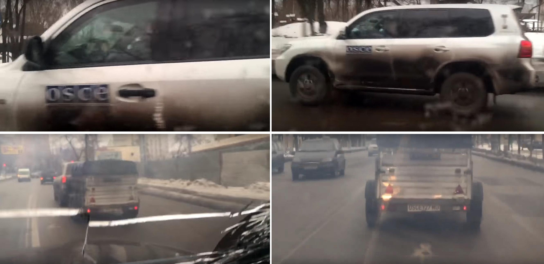 Juste avant les frappes, l'OSCE s'est éclipsée en douce de la DNR