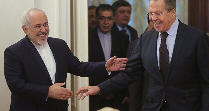 Rencontre à Moscou des ministres russe et iranien des Affaires étrangères