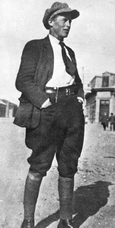 Antonio Soto, leader de la  Patagonie rebelle