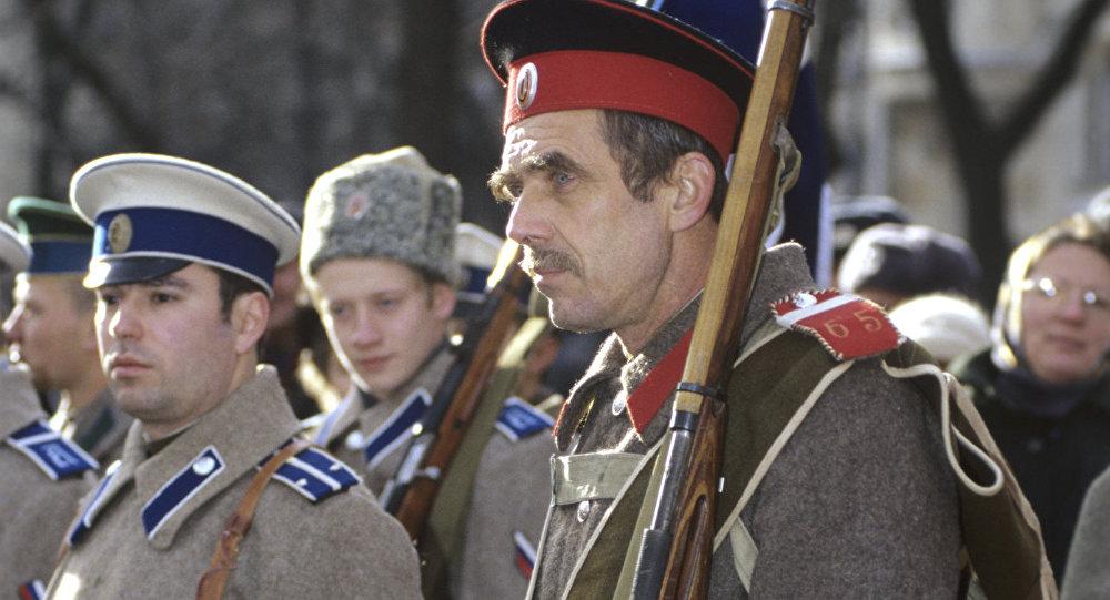 la Russie de 1917