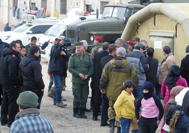 Les députés européens bouleversés par le camp de réfugiés d'Alep