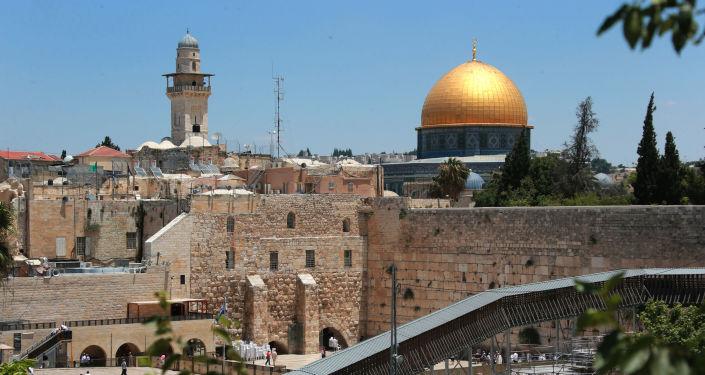 La vieille ville à Jérusalem