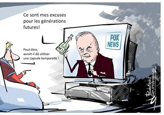 Le Kremlin attendra jusqu'en 2023 les excuses d'un journaliste de Fox News