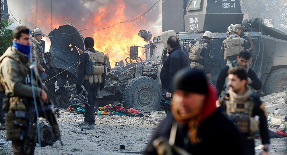 Un attentat à la voiture piégée à Mossoul