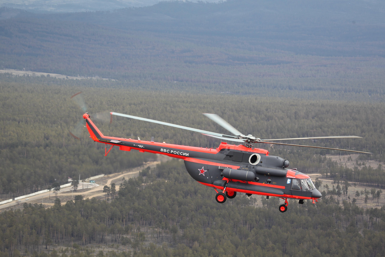 Un hélicoptère MI-8AMTSH-VA