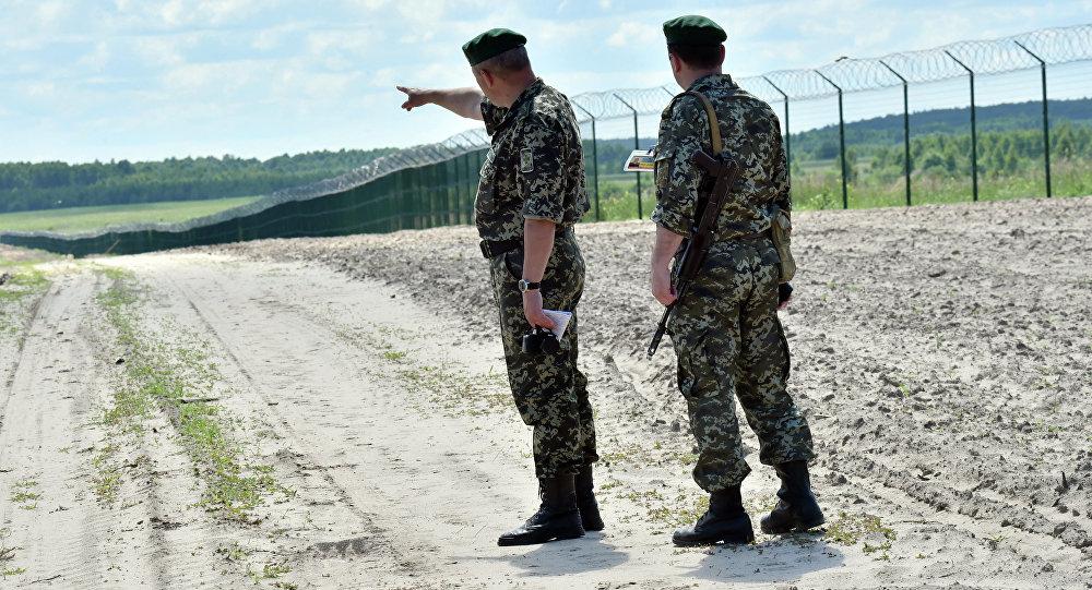 A la frontière entre l'Ukraine et la Russie