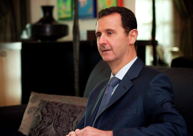 Bachar el-Assad, président syrien