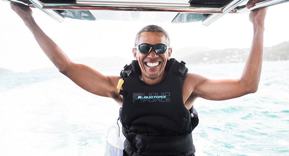 Barack Obama en vacances