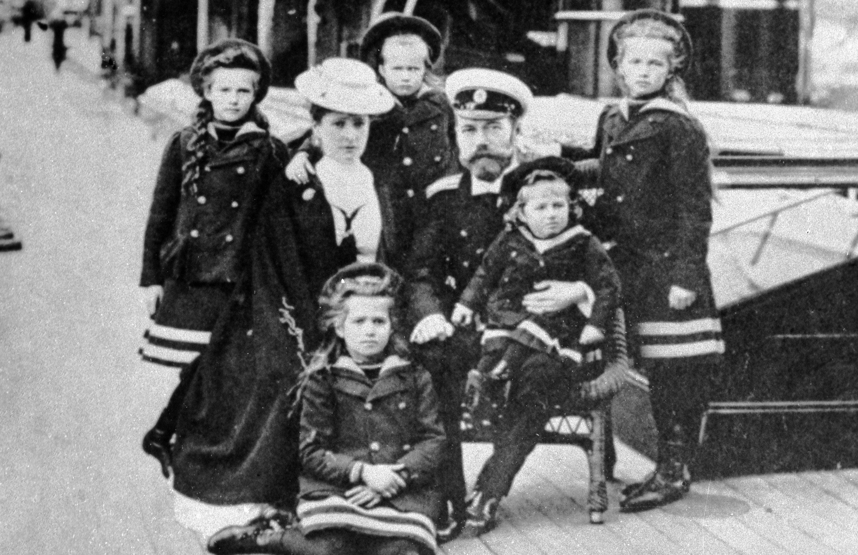 la famille impériale russe