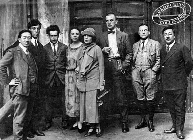 Boris Pasternak, Lili Brik, Vladimir Maïakovski, Sergueï Eisenstein