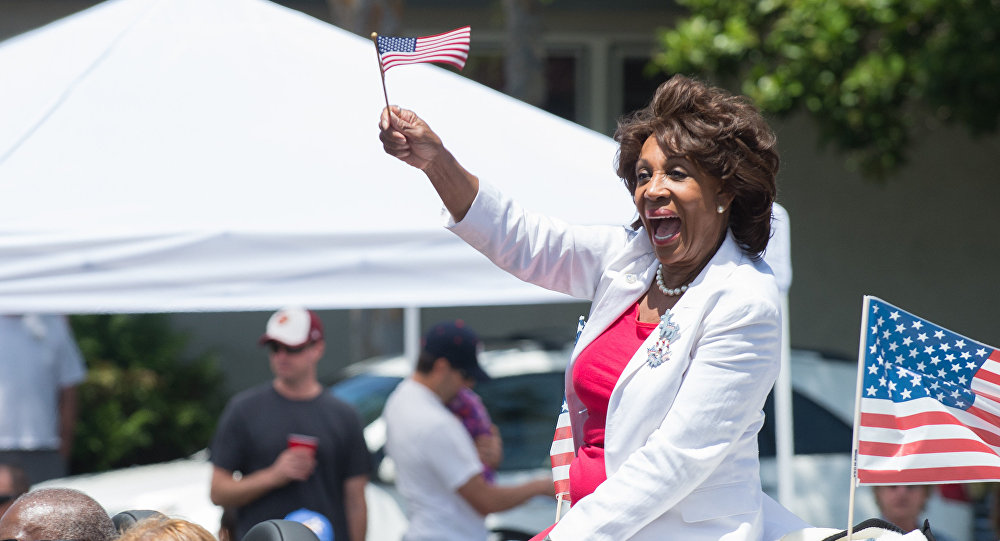 La congressiste américaine Maxine Waters