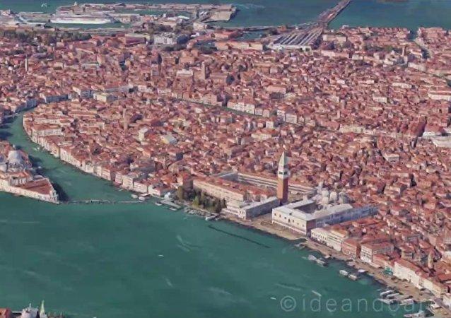 Un designer italien crée un timelapse à partir de Google Maps