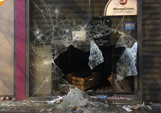 Bobigny: Destruction et pillage d'un magasin