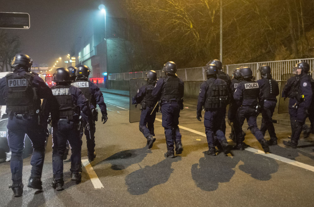 Protestations contre les violences policières en France