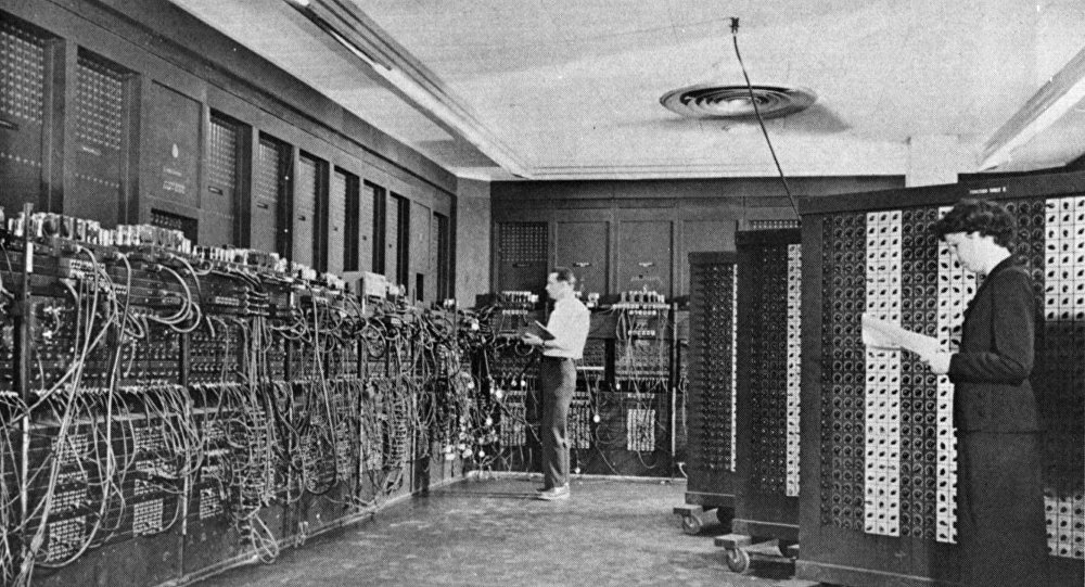 ENIAC, le premier ordinateur entièrement électrique
