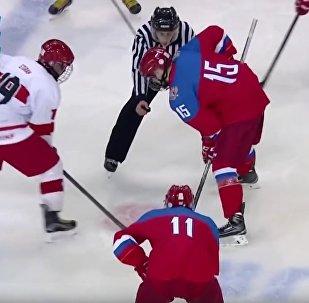 42 buts: les Turcs cruellement atomisés par les Russes au hockey