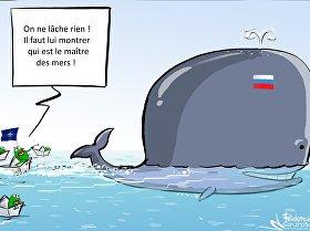 Près de 60 navires de l'Otan surveillaient l'Amiral Kouznetsov en Syrie