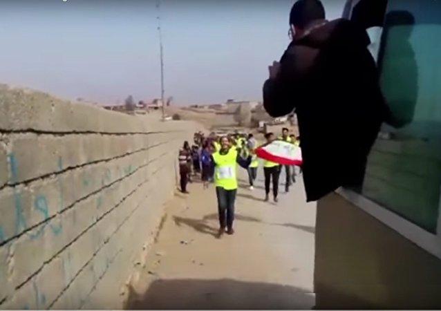 Un marathon de la solidarité de Bagdad à Mossoul