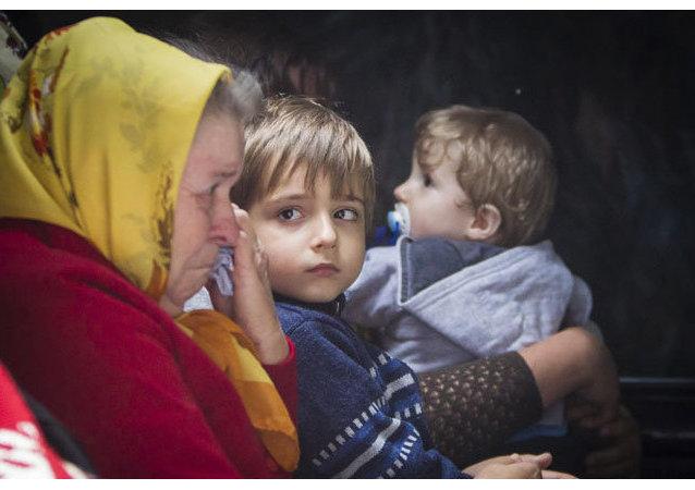 Réfugiés ukrainiens